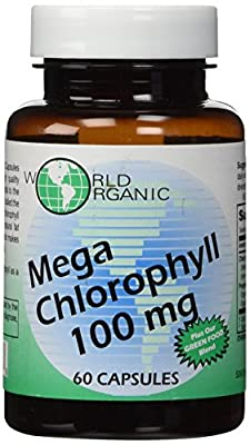Mega-Chlorophyll-100mg World Organics 60 Caps