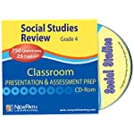 NewPath Learning Social Studies Interactive Whiteboard CD-ROM, Site License, Grade 4