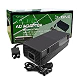 InSassy (TM) AC Adapter Power Supply Cord for Xbox One - AC 100-240V 4.91A 50-60Hz