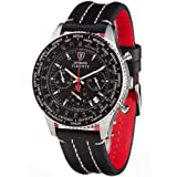 Detomaso Classic Herren-Armbanduhr FIRENZE Chronograph Ledervon &#34;DeTomaso&#34;