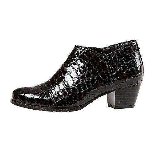 Van Dal Scarpe Stivali da donna Butler in Nero Coccodrillo, nero (Black), 37