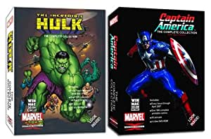 The Incredible Hulk & Captain America Complete Comic Book Bundle Collection on DVD-ROM