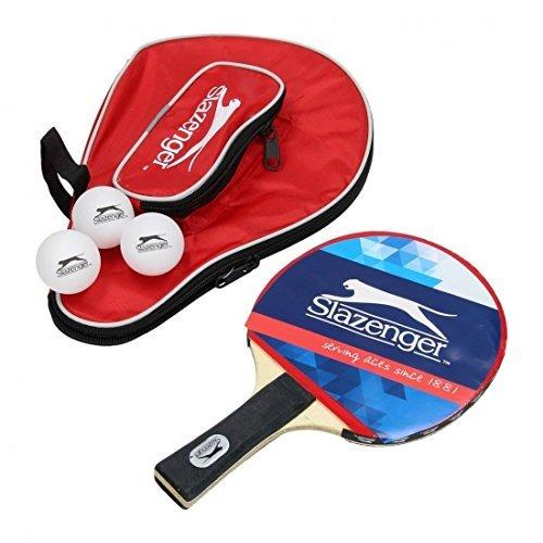 Set di racchette da ping pong, con 3palline e borsa