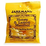 Jakemans Cough Sweets Honey & Lemon Menthol x 10