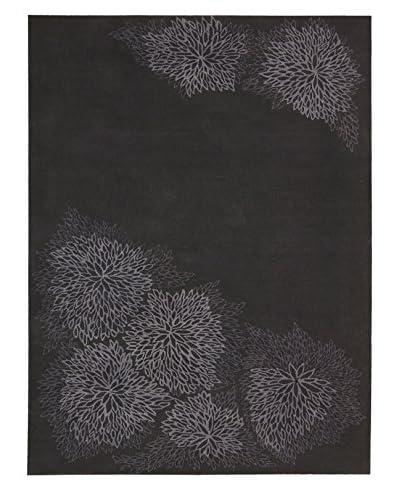 Calvin Klein Etched Flower Rug