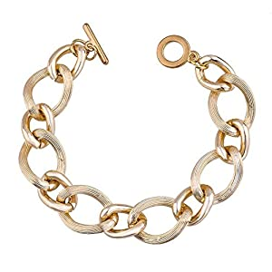 GOMO European Chain Bracelet Gold Plated Bracelets&Bangles Bracelets