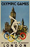 1948 LONDON OLYMPICS GAMES - 4 - FRIDGE MAGNET 70mm x 45mm - IDEAL GIFT