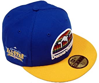 New Era All Star Capper Denver Nuggets 59fifty Fitted Team Basecap Cap Kappe Men by New Era