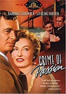 Crime of Passion [DVD] [1957] [Region 1] [US Import] [NTSC]