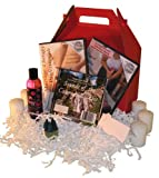 Father's Day Massage Gift Basket: Basic Massage DVD, Professional Massage DVD, Oil, Relaxation Music (2 DVD/1 Oil/1 CD)
