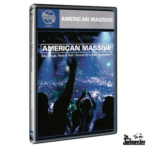 American Massive (Sex, Drugs, Rave & Roll - Portrait of a New Generation Rise Drum & Bass Rave movie DVD