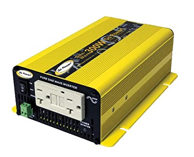 Go Power! GP-SW300-12 300W Pure Sine Wave Inverter, 12V