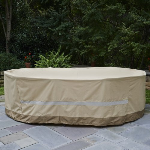 Patio Armor Couch Cover: Patio Armor SF40294 X-Large Mega Table And Chair Cover