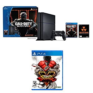 PlayStation 4 500GB Console - Call of Duty Black Ops III Bundle + Street Fighter V