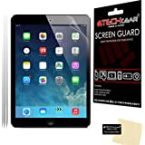 [3 Pack] TECHGEAR® Apple iPad Air & iPad Air 2 (iPad 5 & 6) CLEAR LCD Screen Protectors