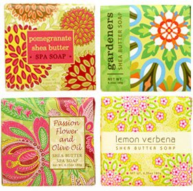 In Bloom Soap Sampler - Boxed Set of 4 Assorted