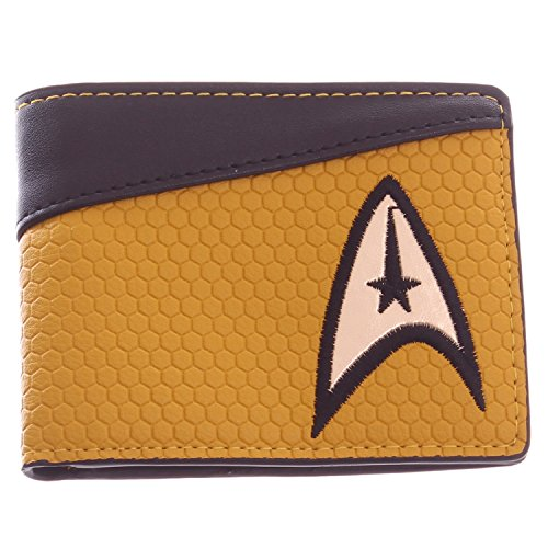 Star Trek Gold Bi-Fold Wallet with Command Logo