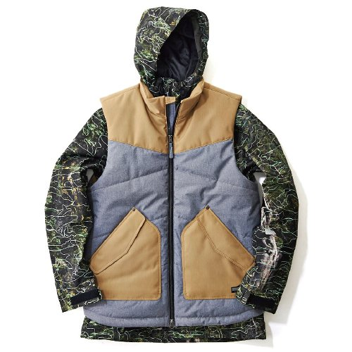 TWO FOR ONE 男女兼用JACKET 品番:MB-2002 カラー:TC S