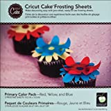 Cricut Cake Frosting Sheets: Primary Colors