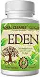 "3-n-1 Detox Cleanse: TRIPLE ACTION Colon Cleanse And Weight Loss Formula - Edens Super Colon Cleanse for a Complete Cleanse, Natural Colon Cleanse, & Weight Loss Detox and Natural Colon Cleanser Aids a Detox Diet via Natural Cleanse for Colon Detox & Digestive Colon Health. Choose ""Total Cleanse"" Super Cleanse for a Colon Cleanse and Detox via Natural Detox Products (the Natural Green Cleanse)!"