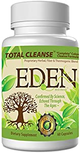 3-n-1 Detox Cleanse: TRIPLE ACTION Colon Cleanse And Weight Loss Formula - Eden's Super Colon Cleanse for a Complete Cleanse, Natural Colon Cleanse, & Weight Loss Detox and Natural Colon Cleanser Aids a Detox Diet via Natural Cleanse for Colon Detox & Digestive Colon Health. Choose
