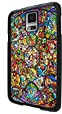 Disney All Characters Stained Glass Samsung Galaxy S5 Rubber Case