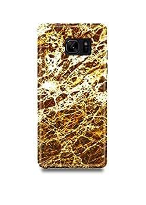 Shopmetro Golden Marble Samsung Note 7 Case-1102