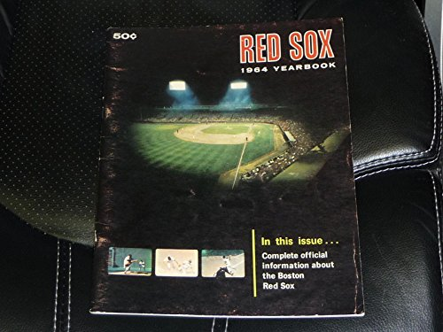 1964 BOSTON RED SOX FIRST EDITION YEARBOOK TONY CONIGLIARO ROOKIE