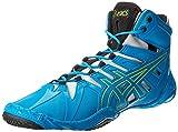Asics Men's Omniflex-Attack Wrestling Shoe,Blue Jewel/Lime/Silver,10 M US