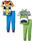 Disney Little Boys' Toy Story Best Of Friends 4 Piece Pajama Set