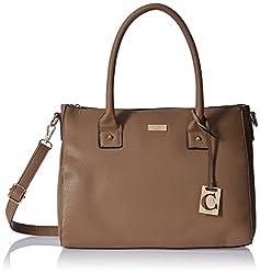 Cathy London Women's Handbag (Brown, Cathy-193)