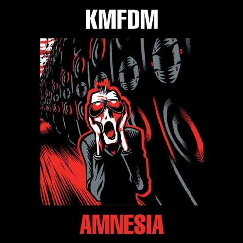 Original album cover of Amnesia by KMFDM