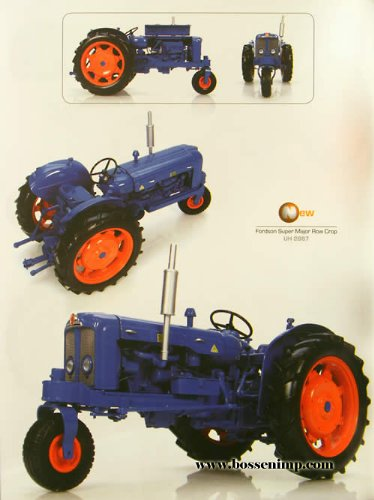 Fordson Super Major with Single Front Wheel