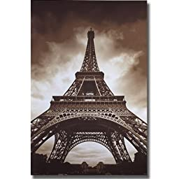 Eiffel Tower by Marcin Stawiarz Premium Stretched Canvas (Ready-to-Hang)