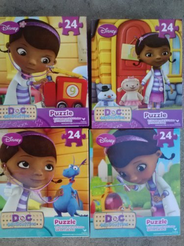 Doc McStuffins 24 Piece Jigsaw Puzzles (Assorted, Designs Vary) - 1