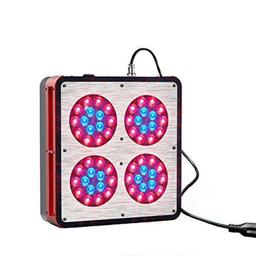 Snail Shop Apo-4 Full Spectrum 60*3W Led Grow Light With Optical Lens For Plants In Garden And Greenhouse