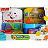 Fisher Price LAUGH & Learn LEARNING KITCHEN Playset W 2 PLAY Sides, LIGHTS, 75+ SONGS & TUNES & More (2012)