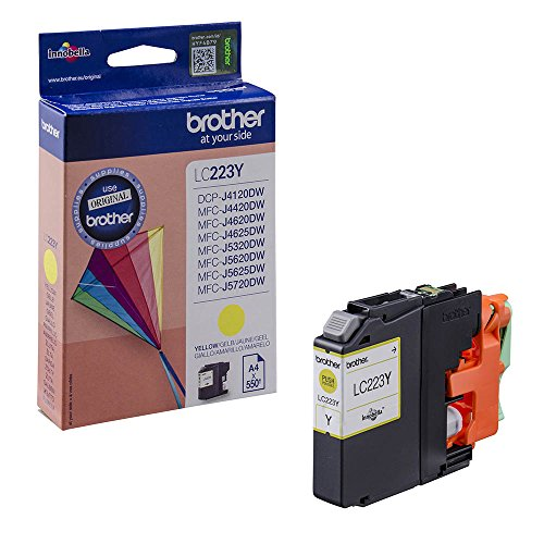 Brother LC-223Y Cartuccia Inkjet, Giallo