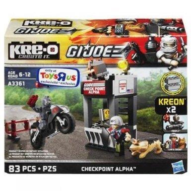 Kre-O, G.I. Joe Exclusive Checkpoint Alpha Set