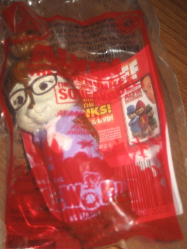 2009 Mcdonalds Happy Meal Toy - The Chipmunks Toy #6 - 1