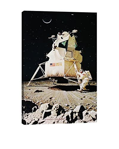 Norman Rockwell Man on the Moon Giclée Print