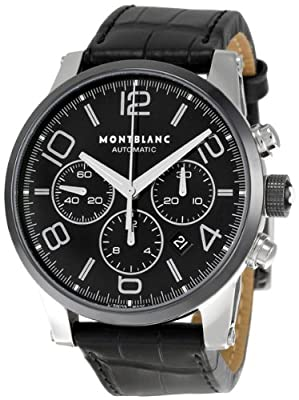 Montblanc Timewalker Chronograph Mens Watch 102365