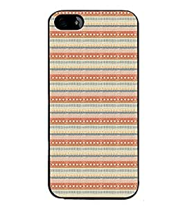 iFasho Animated Pattern colrful tribal design Back Case Cover for Apple iPhone 5S