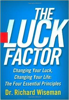 The Luck Factor: Richard Wiseman: 9780786869145: Amazon