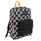 JanSport T501 Superbreak Backpack 2014 Winter Collection (Black Floral Geo)