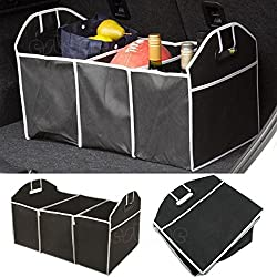 Car Boot Organiser For Picnic Party Shopping Heavy Duty Collapsible Foldable