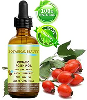Botanical Beauty ORGANIC ROSEHIP OIL 100% Pure