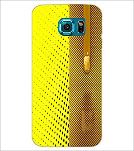 PrintDhaba Pattern D-4981 Back Case Cover for SAMSUNG GALAXY S6 (Multi-Coloured)