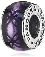 Pandora - 791034EN31 - Drops Femme - Argent 925/1000 - Email Violet