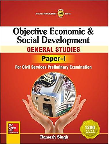 Objective Economic & Social Development_ General Studies Paper I - Ramesh Singh